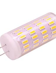 cheap -1pc 4W G4 Gu4 LED Corn Lights Dimmable 12V 24V 400LM 63 LED Beads SMD 3020 White Warm White for Home Lighting Table Light Pendant Light