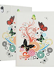 cheap -Case For Apple iPad (2018) /New Air(2019) Auto Sleep / Wake Up Full Body Cases Butterfly Hard Canvas for iPad 2/3/4/iPad Pro 9.7''/Pro 10.5''/iPad (2017)/iPad Air/iPad Air 2/iPad mini 1/2/3/4/5