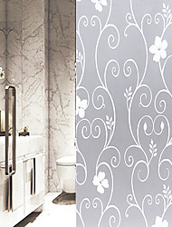cheap -Decorative Wall Stickers - Mirror Wall Stickers Floral / Botanical Bedroom / Bathroom