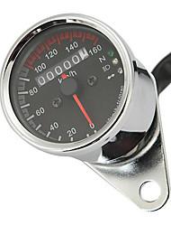 Недорогие -12 В мотоцикл спидометр одометр светодиодная подсветка ночного чтения измеритель скорости мотоцикл инструмент