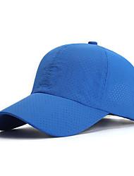 cheap -Visor Blue Dark Gray Ivory Fast Dry Breathability Adjustable Flexible Men's Women's Solid Colored