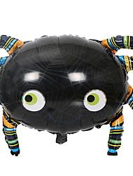 Недорогие -Праздничные украшения Украшения для Хэллоуина Декоративные объекты Для вечеринок Черный 1шт