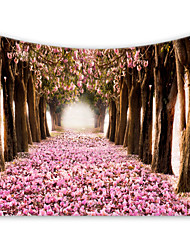 cheap -Garden Theme / Floral Theme Wall Decor 100% Polyester Classic / Modern Wall Art, Wall Tapestries Decoration