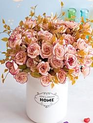 Недорогие -Искусственный цветок 14 персидская роза 7 вилка роза искусственный цветок исследование украшения подарок украшения