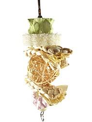 cheap -Bird Perches & Ladders Pet Friendly Focus Toy Felt / Fabric Toys Bird Wood 9 cm