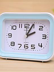 Недорогие -Будильник Аналоговый Пластик Автоматические часы с ручным заводом 1 pcs