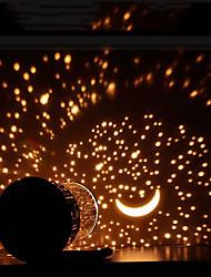 abordables -1pc Globe Sky Projector Light Blanc Chaud Piles AA alimentées Pile