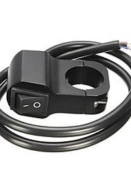 Недорогие -12v 10a 7/8-дюймовый 22-миллиметровый выключатель поворота руля мотоцикла