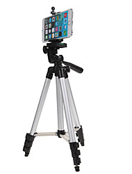 cheap -Mini Camera Tripod Stand Holder 3110 Aluminum Professional Telescopic Tripod Monopod for iPhone Samsung SmartPhone Action Camera