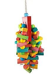 cheap -Bird Perches & Ladders Pet Friendly Focus Toy Felt / Fabric Toys Bird Wood 40 cm
