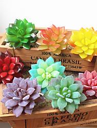 cheap -Artificial Flowers 1 Branch Classic European Pastoral Style Eternal Flower Succulent plants Tabletop Flower
