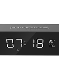 cheap -new home alarm clock bluetooth wireless speaker hand-free phone
