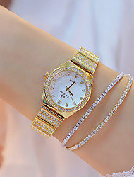 cheap -Women's Quartz Watches Casual Fashion Silver Gold Alloy Chinese Quartz Gold Silver New Design Casual Watch 1 pc Analog One Year Battery Life