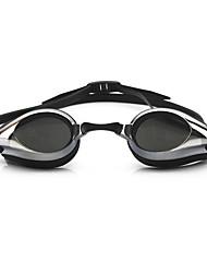 Недорогие -плавательные очки очки кейс Тренировки Нет утечки Удобный Для Взрослые силикагель Поликарбонат Другое черный