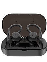 cheap -LITBest BE1032 TWS Earbuds Sports Outdoor Fitness Swimming Earphones Wireless Bluetooth 5.0 Stereo with 2 Pairs of Shark Fin Pieces 1 Pair of Earhooks IPX7 Waterproof Touch Control