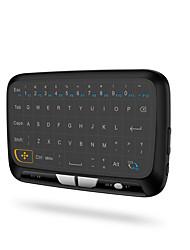 abordables -2.4ghz mini clavier sans fil rétro-éclairé plein écran souris touchpad combo pour pc, android tv box, ps3