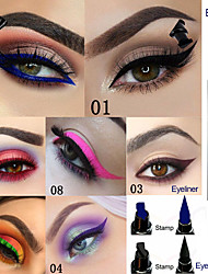 cheap -Brand EVPCT 7 Color Double Head Seal Eyeliner Color Eyeliner Waterproof Durable Eye Cosmetics
