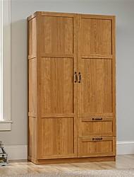 Недорогие -шкаф-шкаф для спальни шкаф для хранения шкафчик со средним дубовым покрытием
