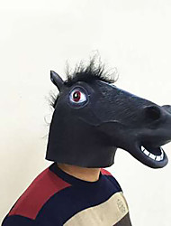 cheap -Halloween Mask Animal Mask Glue Horse Horror Adults' Unisex
