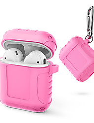 cheap -Portable Silicone Protective Cover Case for AirPods Apple Headphone