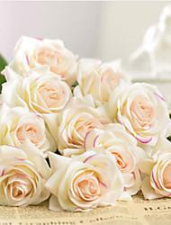 cheap -Artificial Flower Plastic Wedding Bouquet Tabletop Flower Bouquet 1 branch 43cm