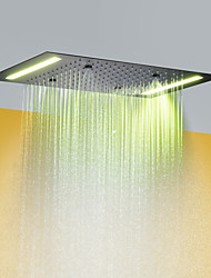 cheap -Contemporary Rain Shower Painted Finishes Feature - Rainfall / LED / Shower, Shower Head