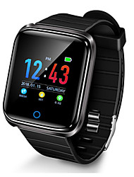 cheap -D28 Smart Watch BT Fitness Tracker Support Notify/ Heart Rate Monitor Sports Smartwatch Compatible with Iphone/ Samsung/ Android Phones