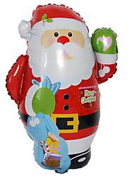 Недорогие -Праздничные украшения Праздники Рождественские украшения Декоративная Красный 1шт