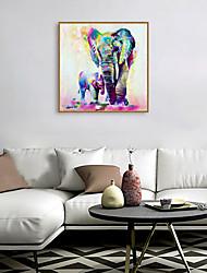cheap -Framed Art Print Framed Set - Animals Pop Art PS Oil Painting Wall Art