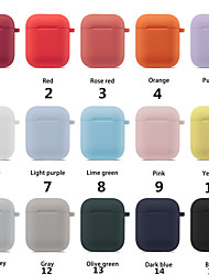 cheap -Colorful Earphone Protector Set For Apple Airpods Portable Silicone Strap Cover Case For Air Pods Headset Accessories Supplies