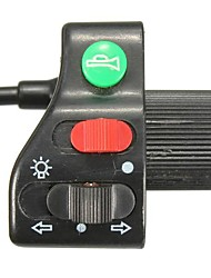Недорогие -7/8-дюймовый руль на выключатель поворота фар рупор мотоцикл велосипед универсальный