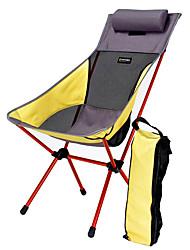 Недорогие -BEAR SYMBOL Складное туристическое кресло Водонепроницаемость Компактность Легкость Мини Алюминий 7075 Сетка Оксфорд для 1 человек Рыбалка Пляж  Походы Путешествия Осень Весна Светло-желтый