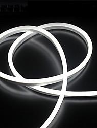 Недорогие -2 м 12 В силиконовые светодиодные неоновые веревочные огни гибкие водонепроницаемые полосы света для DIY крытый открытый декоративные знаки буквы