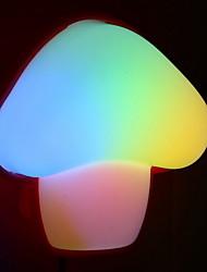 cheap -1pc Wall Plug Nightlight Mushroom Color-changing Creative 220-240 V