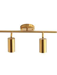 cheap -2-Light 40 cm Adjustable Pendant Light Metal Cylinder / Linear Electroplated LED / Chic & Modern 110-120V / 220-240V / GU10