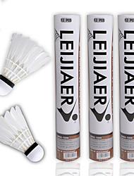 cheap -1006 Badminton Shuttlecocks 12pcs Duck Feather Ultra Light (UL) / High Elasticity / Stability For Sports & Outdoor Badminton