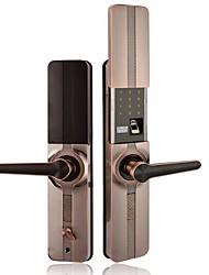 cheap -Fingerprint lock oem slide semiconductor smart door lock password lock zinc alloy electronic lock apartment lock