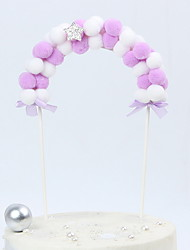cheap -Holiday Decorations Holidays & Greeting Decorative Objects Decorative Purple 2pcs