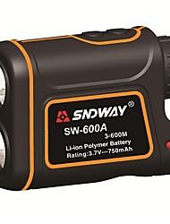 cheap -SNDWAY 600m SW-600A Monocular metre Laser Rangefinder Distance Meter hunting Telescope trena laser range finder measure outdoor