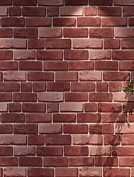 Недорогие -обои Нетканые Облицовка стен - Клей требуется Кирпич