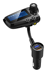 cheap -YuanYuanBenBen Bluetooth 5.0 FM Transmitter Car Handsfree Bluetooth / QC 3.0 / MP3 Car