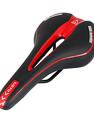 cheap -Bike Saddle / Bike Seat Breathable Comfort Cushion Hollow Design PVC(PolyVinyl Chloride) Cycling Mountain Bike MTB Recreational Cycling Fixed Gear Bike Red and White Black / White Black / Red / Thick