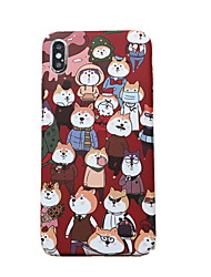 cheap -Case For Apple iPhone XS / iPhone XR / iPhone XS Max Pattern Back Cover Cartoon Hard Plastic