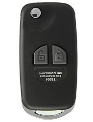 cheap -2 BTN Remote Flip Folding Key Shell Case Kit For SUZUKI Ignis Swift Grand Vitara