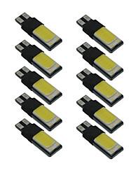 Недорогие -10 шт. T10 Автомобиль Лампы 6 W COB Светодиодная лампа Подсветка для номерного знака / Рабочее освещение / Задний свет Назначение Универсальный Все года
