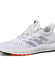 cheap -Men's Comfort Shoes Mesh Spring & Summer / Fall & Winter Sporty / Casual Athletic Shoes Running Shoes / Walking Shoes Black / White / Gray