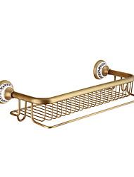 cheap -Bathroom Shelf New Design / Cool Contemporary Brass 1pc Wall Mounted