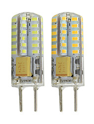 cheap -2pcs GY6.35 MR16 LED Lights 12V DC/AC 260LM 48 LED SMD 3014 White Warm White For RV Marine Cabinet Lights Decorative Lights