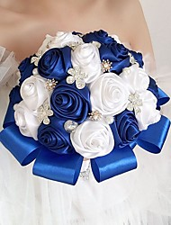 cheap -Wedding Flowers Bouquets Wedding Party Silk 21-30 cm
