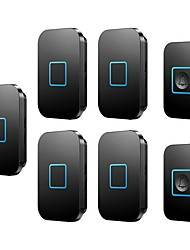 cheap -Wireless doorbell two tow five wireless pager intelligent electronic music doorbell home doorbell